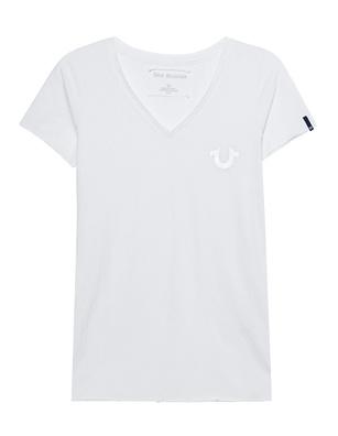 TRUE RELIGION Reflective Shirt White