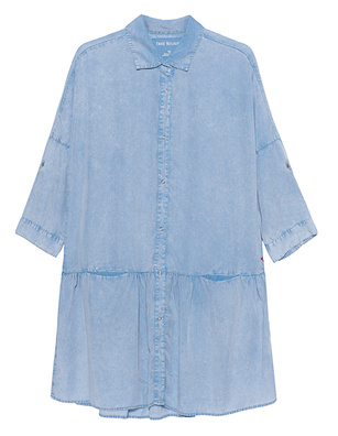 TRUE RELIGION Denim Dress Blue