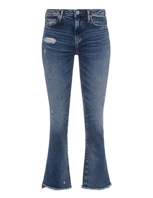 TRUE RELIGION New Halle Kick Flare Blue
