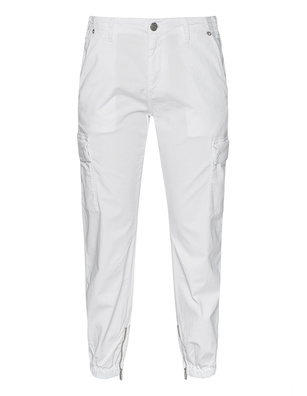 TRUE RELIGION Cargo Zipper Milky White