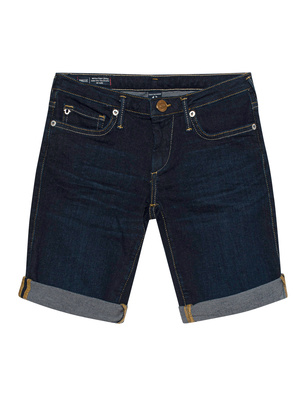 TRUE RELIGION Bermuda Halle Denim Blue
