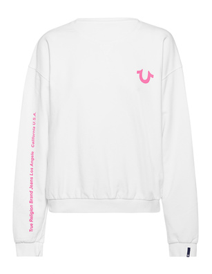 TRUE RELIGION Cosy Logo White