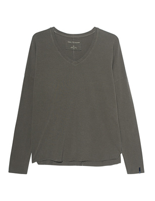 TRUE RELIGION V-Neck Relax Olive