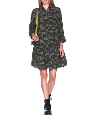 TRUE RELIGION Camouflage Dress Olive