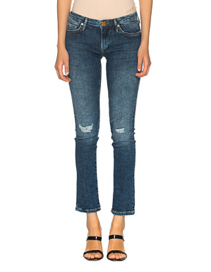 TRUE RELIGION New Halle Regular Destroyed Blue
