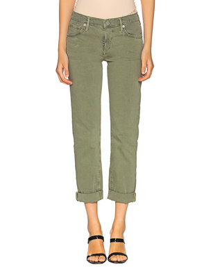 TRUE RELIGION Liv Gabadrin Stretch Green