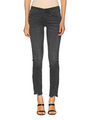 TRUE RELIGION Halle Skinny Washed Black