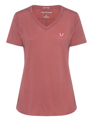 TRUE RELIGION Reflector Horseshoe Mauve
