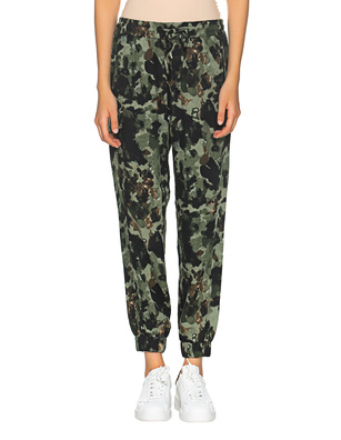 TRUE RELIGION Camouflage Loose Oliv
