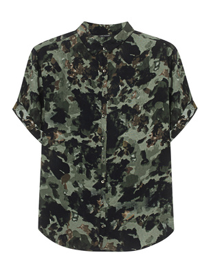 TRUE RELIGION Camo Loose Olive