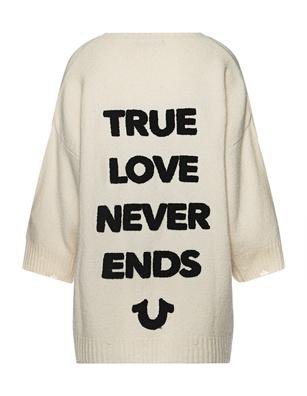 TRUE RELIGION True Love Oversize Cream