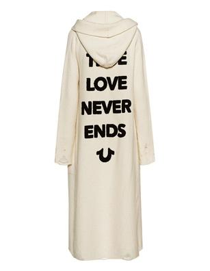 TRUE RELIGION True Love Never Ends Off White