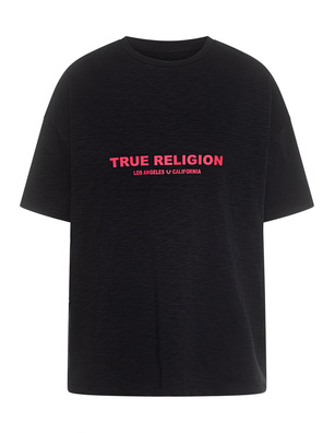 TRUE RELIGION Oversize Logo Black