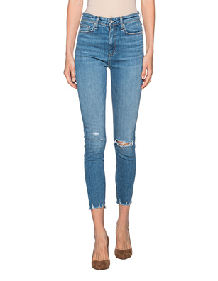 RAG&BONE Nina High Rise Skinny Ankle Blue