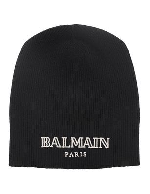 BALMAIN Logo Embroidery Black