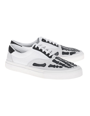 Amiri Skel Toe Lace Up White