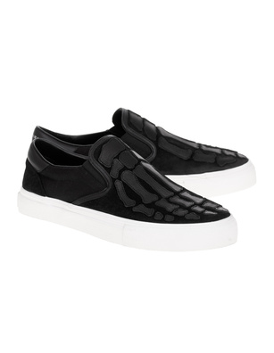 Amiri Skel Toe Slip On Black