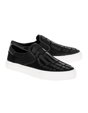 Amiri Skel Toe Slip On Black