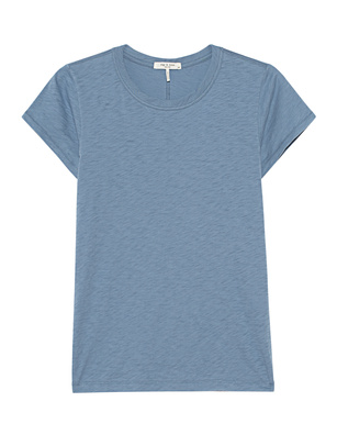 RAG&BONE Crewneck The Slub Tee Blue