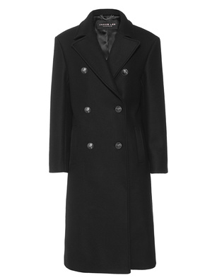 JACOB LEE Oversize Buttons Black