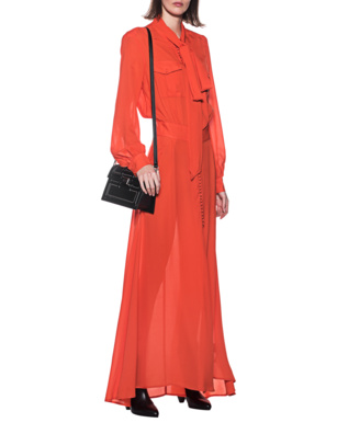 JACOB LEE Chiffon Dress Orange
