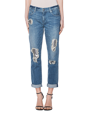 TRUE RELIGION Cameron Sequin Blue