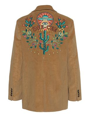 WASHINGTON DEE CEE Cord Embroidery Caramel