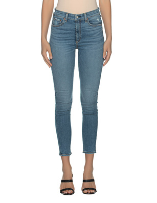 RAG&BONE High Rise Ankle Nina Skinny Blue