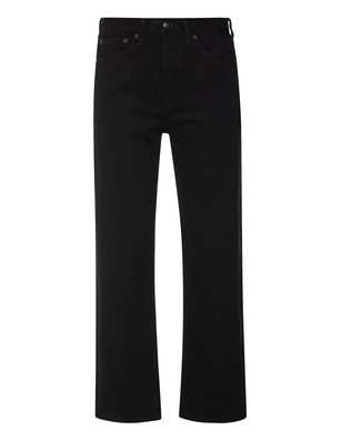 RAG&BONE MAYA HIGH RISE ANKLE STRAIGHT BLACK
