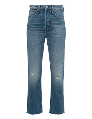 RAG&BONE Maya High Rise Ankle Slim Blue