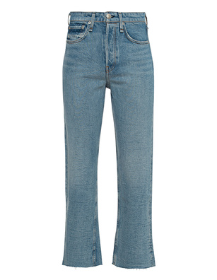 RAG&BONE Maya Eastwood High-Rise Ankle Straight Blue