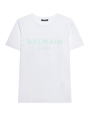 BALMAIN Printed Logo White