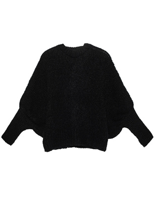 THOM KROM Alpaka Wool Chunky Black