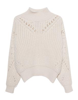 THOM KROM Oversize Woolen Off White