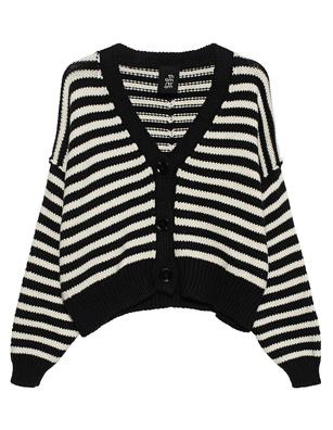 THOM KROM Stripe Black White
