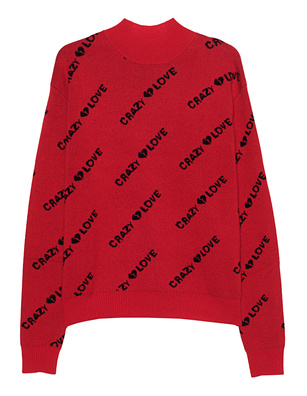 JACOB LEE CASHMERE CRAZY LOVE RED