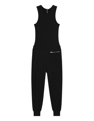 THOM KROM Jumpsuit Clean Black