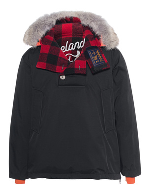 WOOLRICH Atlantic Smock Black