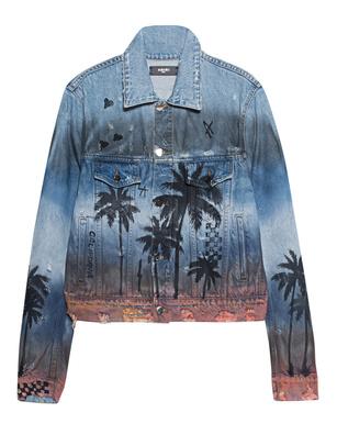 Amiri Palm Trucker Blue