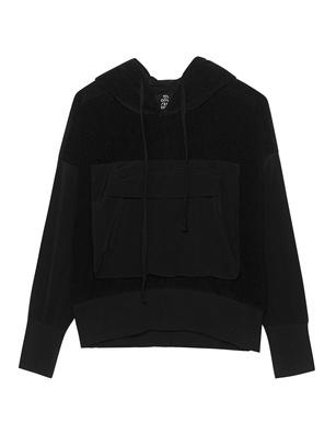 THOM KROM Hood Pocket Black