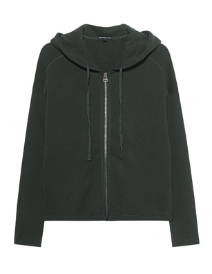 JAMES PERSE Hood Zipper Dark Olive