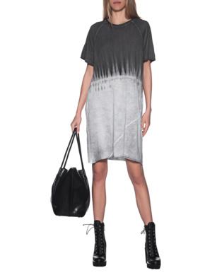 THOM KROM Batik Dress Grey