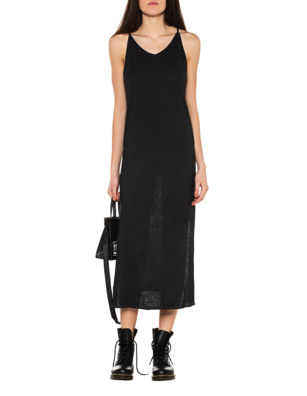 THOM KROM Oil Dress Anthracite