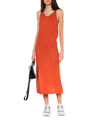 THOM KROM Oil Dress Orange
