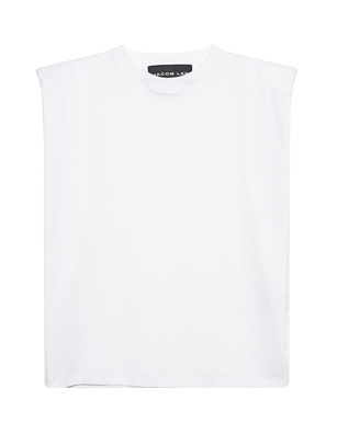 JACOB LEE Oversize Shoulder White