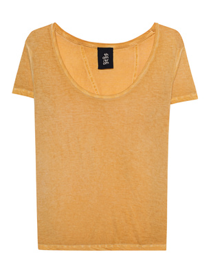 THOM KROM Washed-Out Shirt Yellow