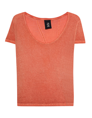 THOM KROM Washed-Out Shirt Orange