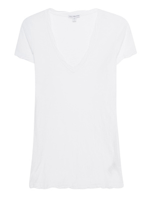 JAMES PERSE V Neck White