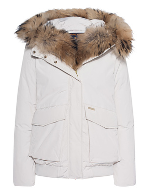 WOOLRICH W's Military Bomber Off-White