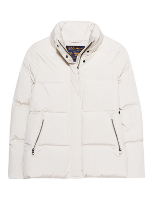 WOOLRICH Buffer Oversize Label White